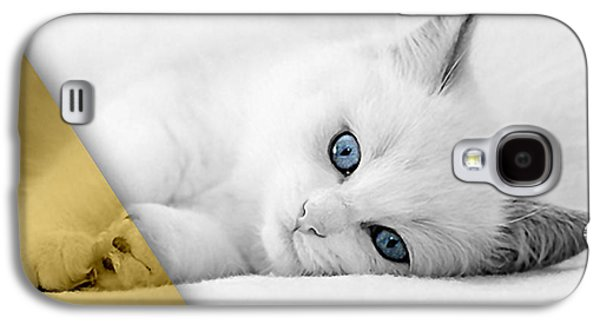 Cat Collection Galaxy S4 Case by Marvin Blaine