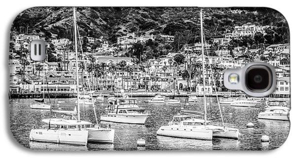 Catalina Island Avalon Bay Black And White Photo Galaxy S4 Case