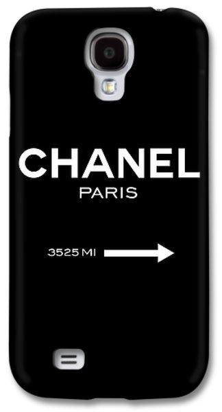 Chanel Paris Galaxy S4 Case