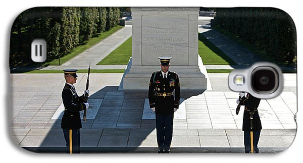 Changing Of Guard At Arlington National Galaxy S4 Case by Terry Moore