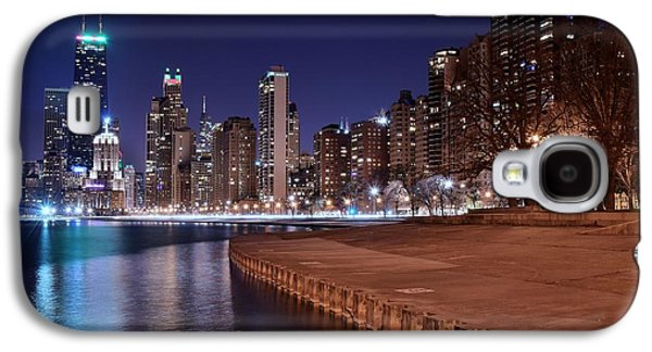 Chicago From The North Galaxy S4 Case by Frozen in Time Fine Art Photography