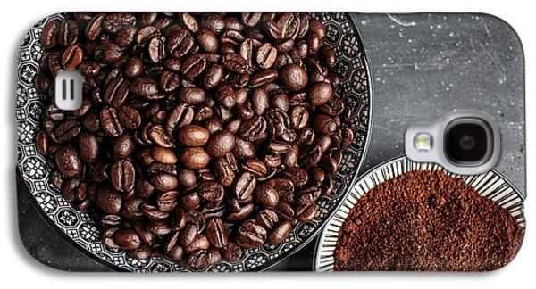 Coffee Galaxy S4 Case by Nailia Schwarz