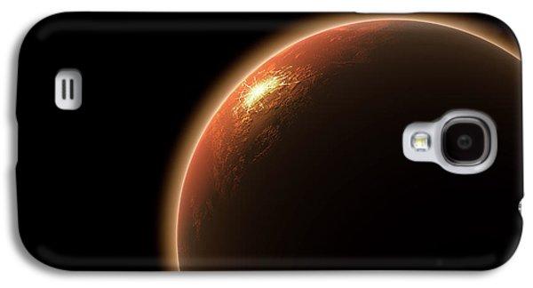 Colonization Of Mars Galaxy S4 Case