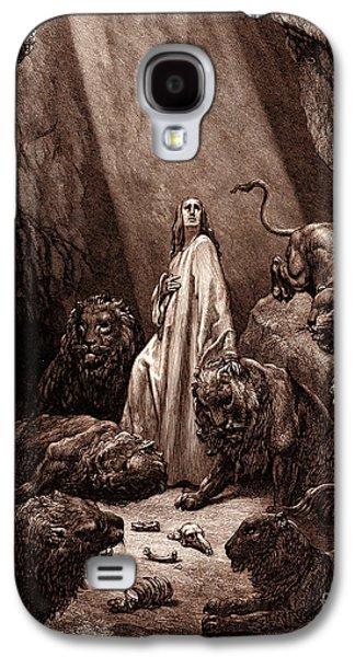 Daniel In The Den Of Lions Galaxy S4 Case by Gustave Dore