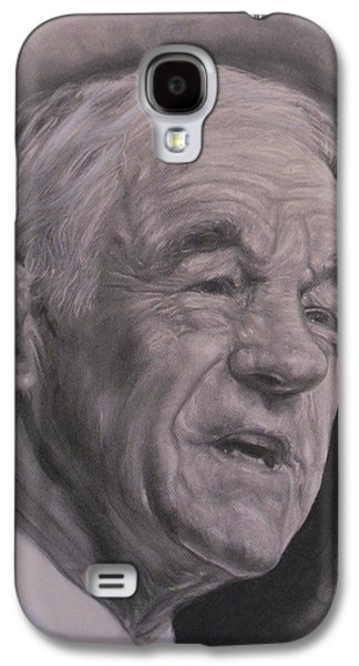 Dr. Ron Paul  Galaxy S4 Case by Adrienne Martino