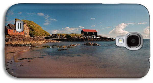 Dunaverty Bay Boathouse And Sea Captains Quarters Galaxy S4 Case