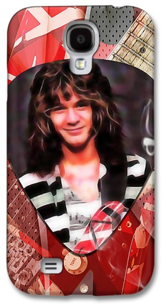 Eddie Van Halen Art Galaxy S4 Case by Marvin Blaine