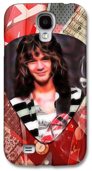 Eddie Van Halen Art Galaxy S4 Case