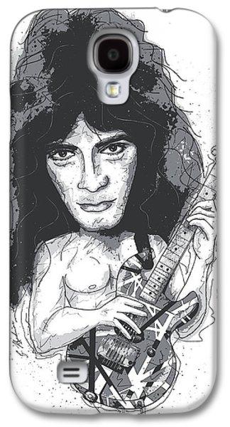 Eddie Van Halen Galaxy S4 Case by Gary Bodnar