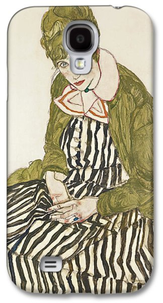 Edith With Striped Dress, Sitting Galaxy S4 Case