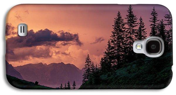 Evening In The Alps Galaxy S4 Case by Nailia Schwarz