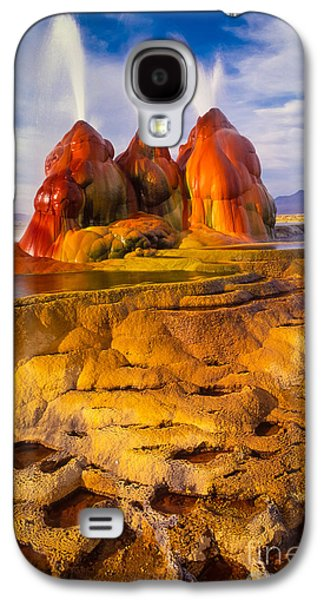 Fly Geyser Galaxy S4 Case by Inge Johnsson