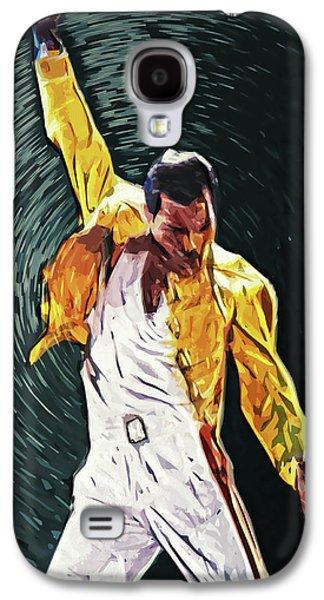 Freddie Mercury Galaxy S4 Case by Taylan Apukovska