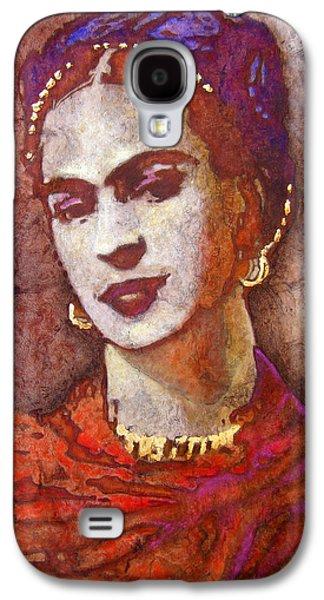 Frida  Galaxy S4 Case by J- J- Espinoza
