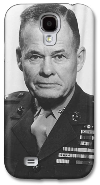 General Lewis Chesty Puller Galaxy S4 Case by War Is Hell Store