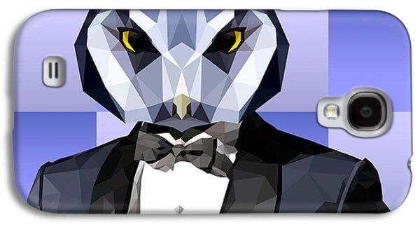 Geometric Owl Galaxy S4 Case