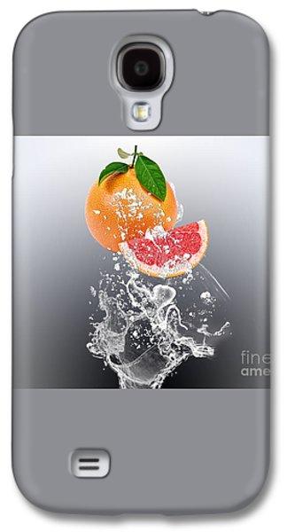 Grapefruit Splash Galaxy S4 Case by Marvin Blaine