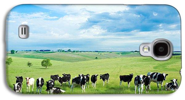 Happy Cows Galaxy S4 Case by Todd Klassy
