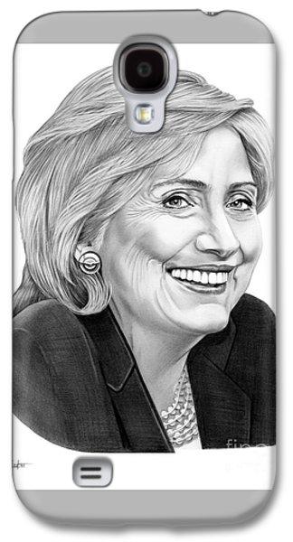 Hillary Clinton Galaxy S4 Case by Murphy Elliott