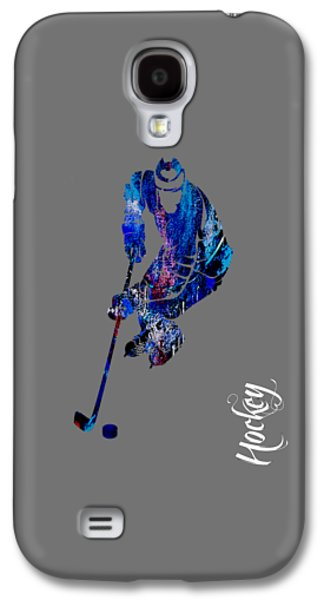 Hockey Collection Galaxy S4 Case by Marvin Blaine