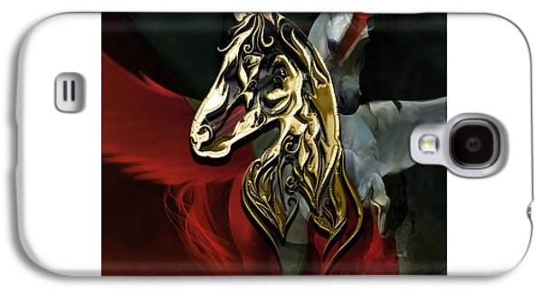 Horse Art Collection Galaxy S4 Case by Marvin Blaine