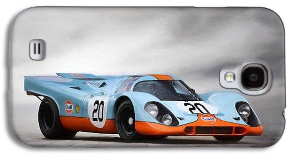 I Am Legend Porsche 917 Galaxy S4 Case by Peter Chilelli