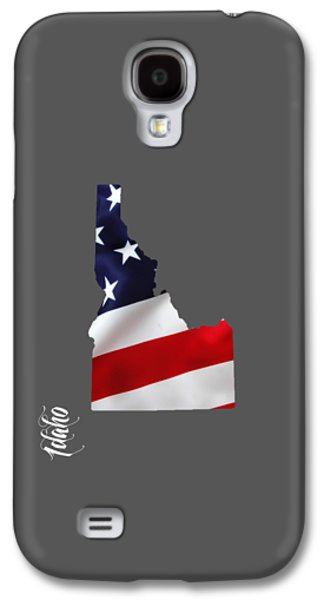 Idaho State Map Collection Galaxy S4 Case by Marvin Blaine