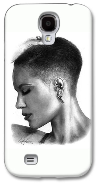 Halsey Drawing By Sofia Furniel Galaxy S4 Case