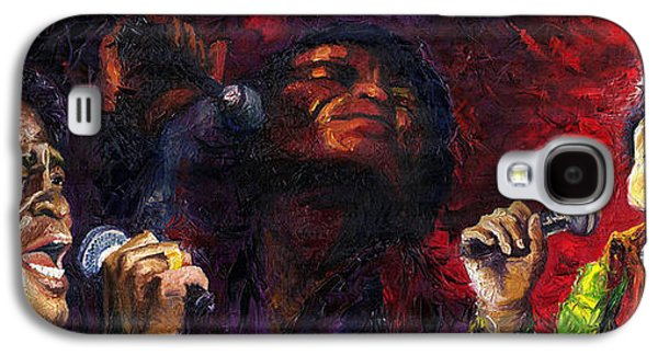 Jazz James Brown Galaxy S4 Case by Yuriy  Shevchuk