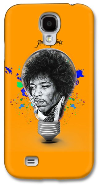 Jimi Hendrix Galaxy S4 Cases - Jimi Hendrix Electric Galaxy S4 Case by Marvin Blaine