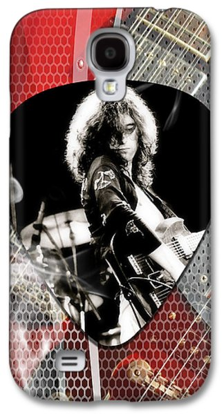 Jimmy Page Art Galaxy S4 Case