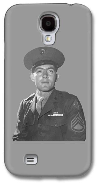 John Basilone Galaxy S4 Case by War Is Hell Store