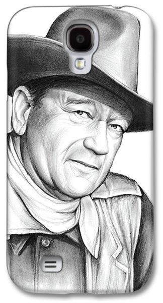 John Wayne Galaxy S4 Case by Greg Joens