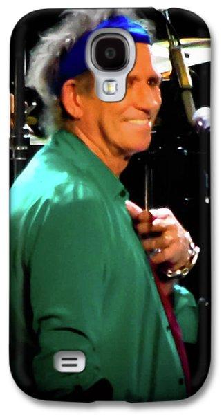 Keith Richards  Galaxy S4 Case by Luisa Gatti