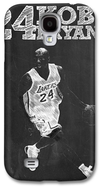 Kobe Bryant Galaxy S4 Case by Semih Yurdabak