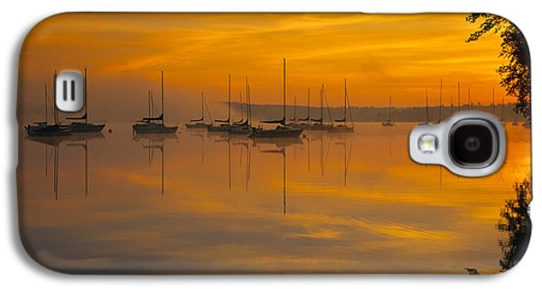 Water Scene Galaxy S4 Cases - Lake Massabesic - Auburn New Hampshire USA Galaxy S4 Case by Erin Paul Donovan