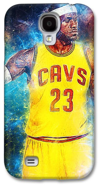 Lebron James Galaxy S4 Case by Taylan Apukovska