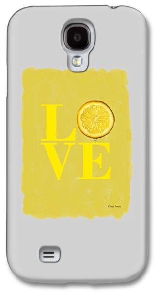 Lemon Galaxy S4 Case by Mark Rogan