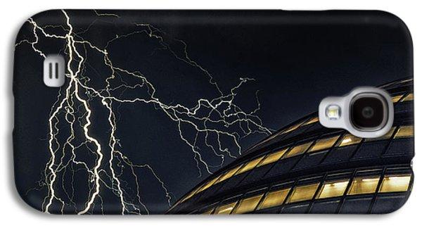 Lightning Strike Galaxy S4 Case by Martin Newman