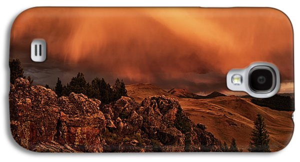 Lost River Sunset Galaxy S4 Case by Leland D Howard
