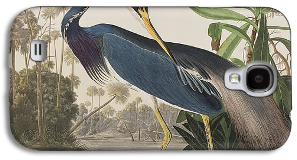Louisiana Heron  Galaxy S4 Case by John James Audubon