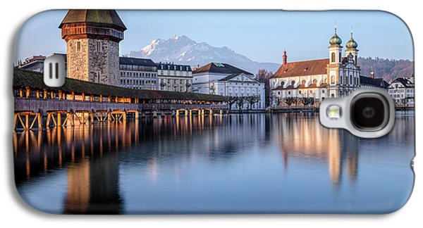 Lucerne - Switzerland Galaxy S4 Case by Joana Kruse