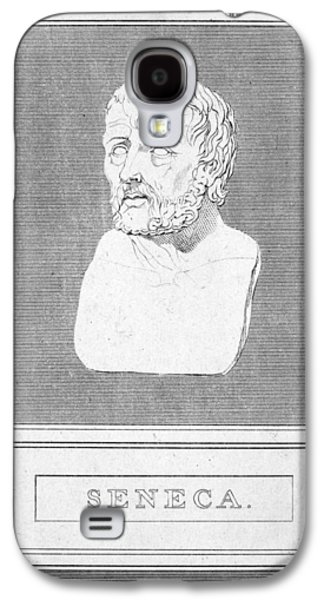 Recently Sold -  - Statue Portrait Galaxy S4 Cases - Lucius Annaeus Seneca Galaxy S4 Case by Granger