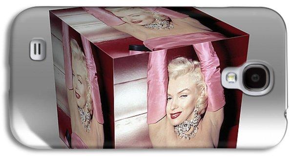 Marilyn Monroe Diamonds Are A Girls Best Friend Galaxy S4 Case
