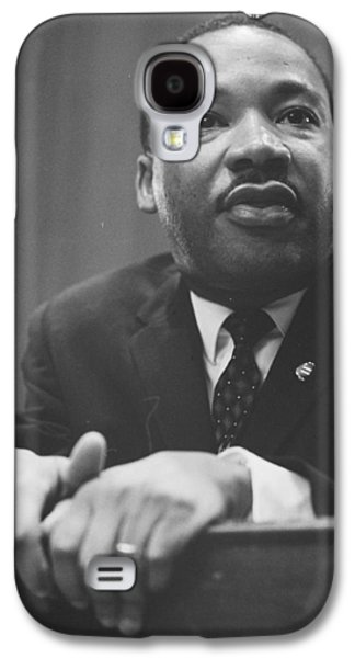 Martin Luther King Jr Galaxy S4 Case by American School