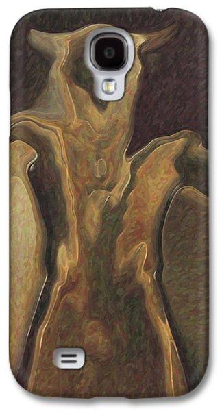 Minotaur  Galaxy S4 Case by Quim Abella