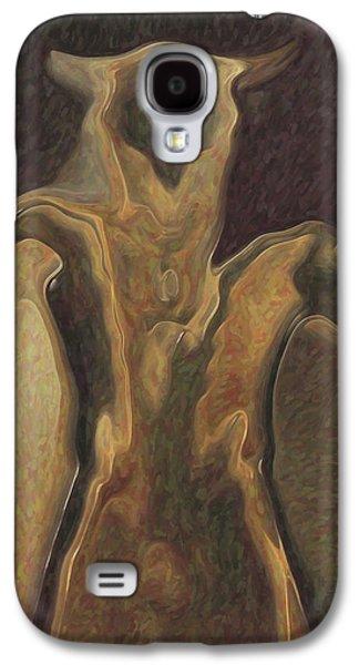 Minotaur Galaxy S4 Case - Minotaur  by Quim Abella