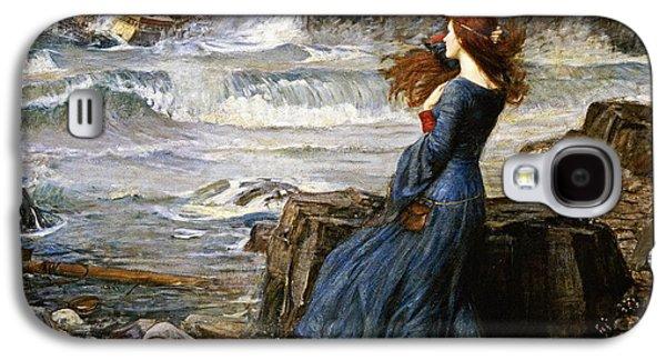 Miranda - The Tempest Galaxy S4 Case by John William Waterhouse