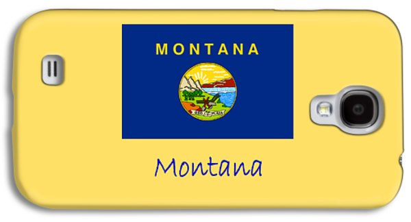 Montana Flag Galaxy S4 Case by Frederick Holiday