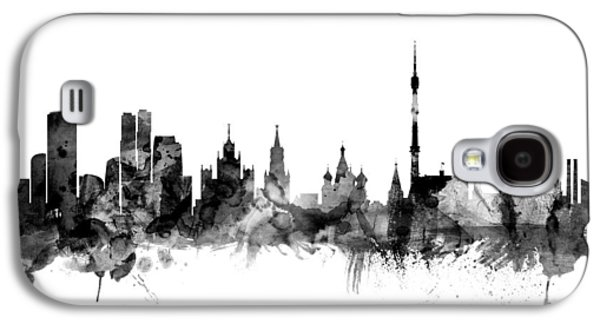 Moscow Russia Skyline Galaxy S4 Case
